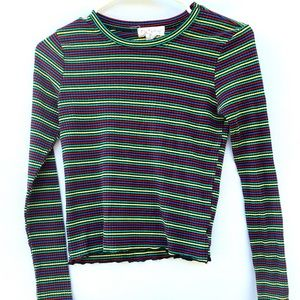 Outlaw colorful knitted shirt size M